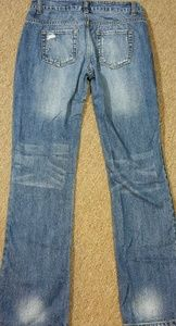 Forever21 Distressed Jeans Size 26